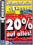 [lokal] Schossau Mönchengladbach Prozentaktion am 13.12.10