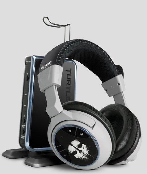 Turtle Beach Ear Force PHANTOM - Call of Duty Ghosts Edition - Headset für PS4/ONE/PS3/360 für 156,50€ statt 299€ @turtlebeach.com