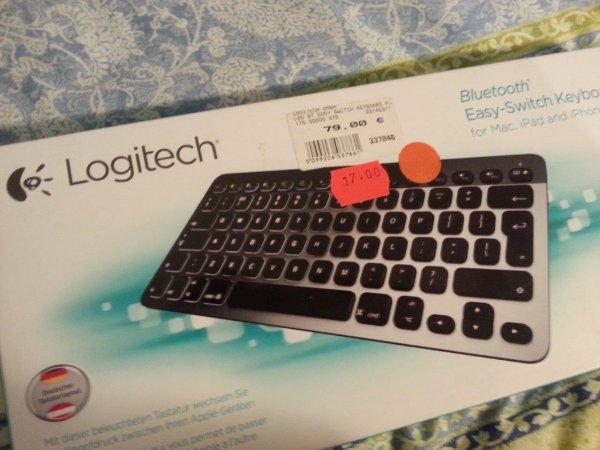 [LOKAL - Expert Osterode] Logitech Bluetooth Tastatur K811 für MAC / iPhone / iPad
