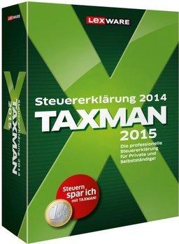 Steuersoftware reduziert (Lexware Taxman 2015; Wiso Steuersparbuch 2015)