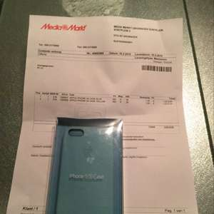 [Lokal MediaMarkt Groningen NL] original Apple iPhone 5s Ledercase