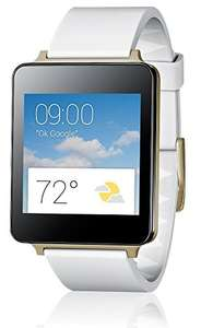 "LG™ - G Watch ""W100"" (1,2-GHz-Qualcomm-Prozessor,4GB,micro-USB,Bluetooth 4.0,Weiß) für €99.- [@Redcoon.de]"