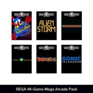 [Steam] SEGA 48-Game Mega Arcade Pack @ Amazon.com