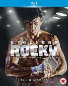 [Zavvi] Rocky Heavyweight Collection (Teil 1-6) Blu-Ray