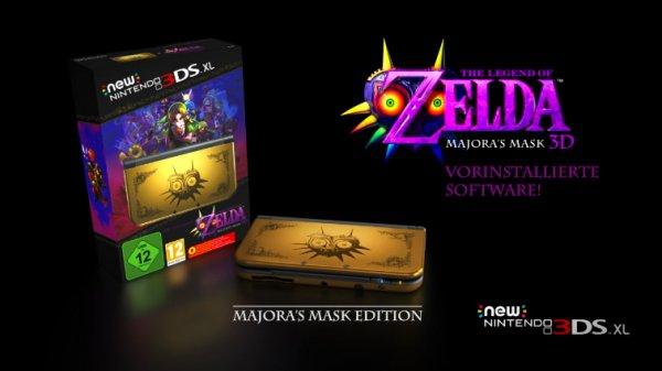 Zelda Majoras Mask 3ds XL wieder verfügbar Amazon