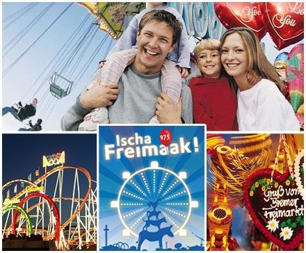 [Bremen] Freimarkt Bummelpass für 9,50€ statt 19€