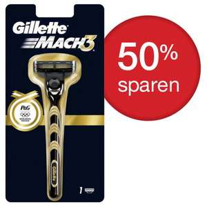 P&G Shop | Gillette Mach 3 Olympia Golden Edition 2€ + Versand 3€