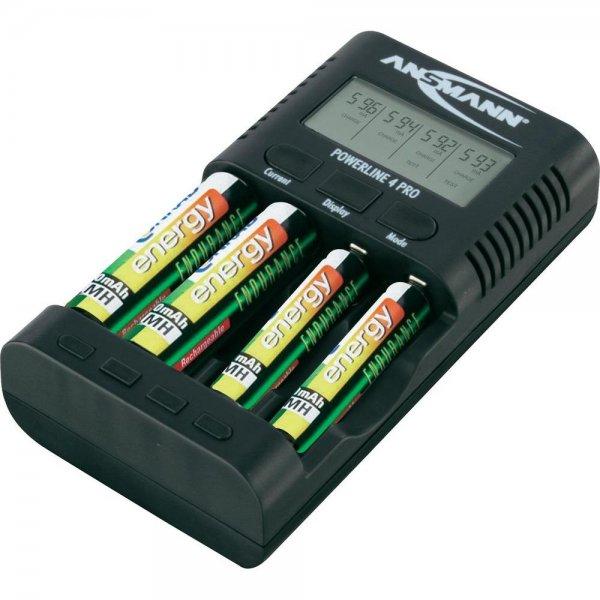 [Voelkner] Ansmann Powerline 4 Pro Ladegerät für 25,xx€ = 15% Ersparnis *** [Ebay] Pixo C4 Ladegerät (inkl. 2x USB-Ladefunktion) für 25€ = 25% Ersparnis