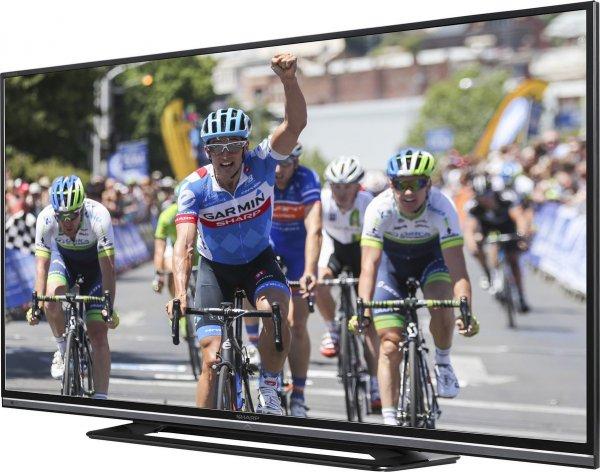 Sharp LC-50LD264E 127 cm (50 Zoll) LED-Backlight-Fernseher (Full HD, 100Hz, DVB-T/C, HDMI, USB) für 392,21