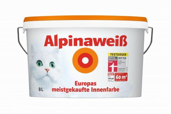Alpina Weiß mit der Katz