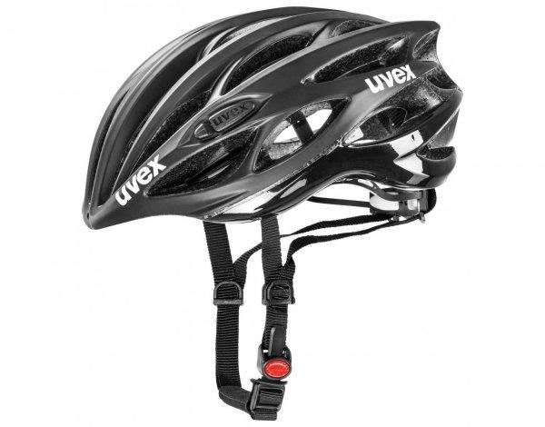 uvex race 1 Fahrradhelm Farbe black mat/shiny ~89€ inkl. VSK roseversand.de