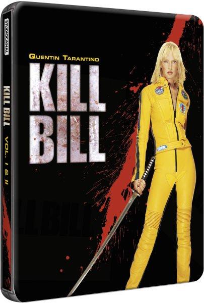 Kill Bill 1+2 Steelbook Bluray 16,01 €