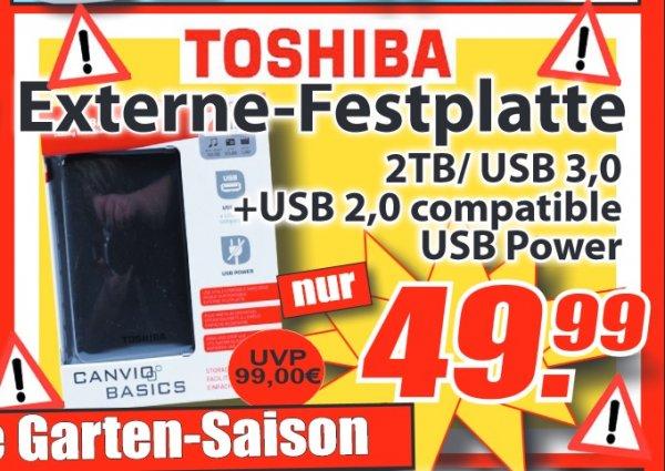 [MAGOWSKY OWL] Toshiba Canvio Basics 2TB 2,5' für 49,99€