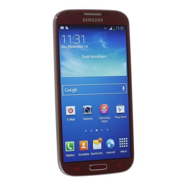[Getgoods] Samsung Galaxy S4 i9505 16GB Rot (B-Ware)
