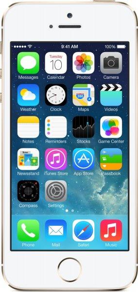 [Rakuten] Apple iPhone 5S 32GB gold (mit 25x Superpunkte-Aktion für effektiv etwa 510€)