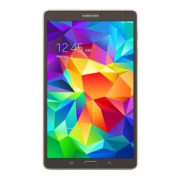 Samsung TAB S 8.4 LTE (T705N) in bronze und weiss [getgoods wie neu]