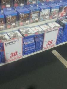 MediaMarkt Berlin: CoD Advanced Warfare 30 Euro / Mittelerde: Mordors Schatten 20€ / The Equalizer 12,00 Bluray