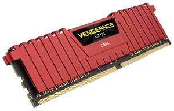Corsair Vengeance LPX 32GB (4x8GB), 32 GB, DDR4, 2666 MHz, Rot