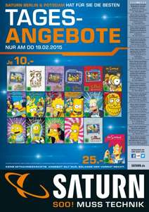 [Lokal Saturn Berlin/Potsdam] Simpsons Staffeln für je 10€