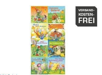 Pixi-Bundle 8er Serie 191: Pixi feiert Ostern und den Frühling für 99 Cent bei Saturn.de