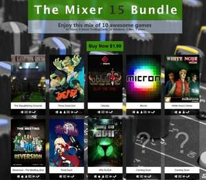 "[Steam]The Mixer ""15"" Bundle / 8 Steam Keys + 2 Bonus Keys für 1,75€"