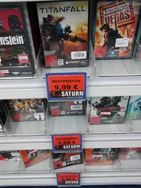 [Lokal] Titanfall Steelbook Edition (PC): 9,99€ @ Saturn Berlin-Spandau