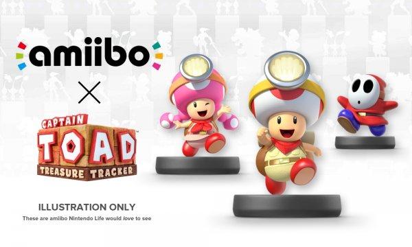 [Otto.de] Wii U - Amiibo für 9,24€ / Captain Toad Treasure Tracker für 27,99€