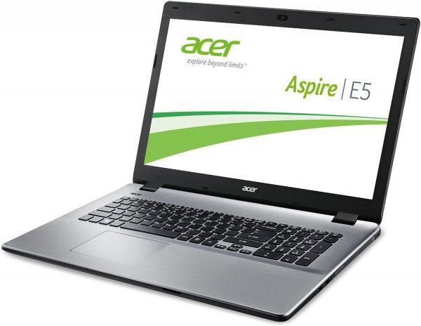 Acer Aspire E5-771-57BE - 17,3 Zoll HD+, Core i5-4210U, 4GB RAM, 1TB HDD, Intel HD 4400, DVD Brenner für 399€ @Amazon.de