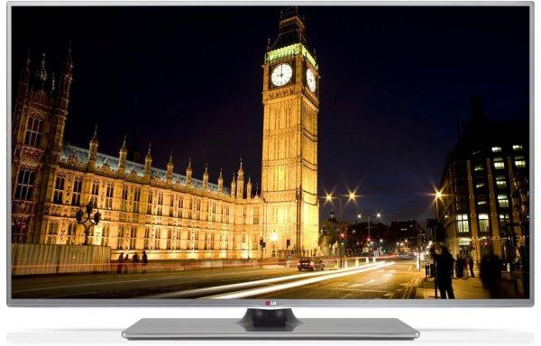 LG 47LB656V 119 cm (47 Zoll) Cinema 3D LED-Backlight-Fernseher (Full HD, 500Hz MCI, DVB-T/C/S, CI+, WLAN, Smart TV, HbbTV) für 499€