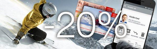 -20% auf Skipässe in Kitzbühel, Österreich