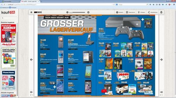 LOKAL Xbox One 500GB + 2. Controller + Halo MCC + Project Spark Saturn Osnabrück 333€
