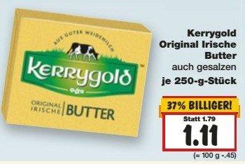 Kaufland - Kw 09/2015 - Kerrygold Butter  - 1,11€, Uncle Bence ExpressReis für 0,29€ mit GS