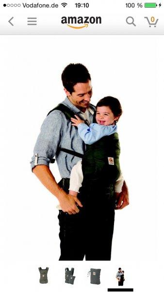 (Amazon)  Ergobaby EBBCTS346001 Travel Babytrage Carrier, Olive 45€ inkl. Versand