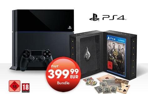 PS4 + The Order 1886 Blackwater Edition für 399€ + 5€ Versand bei GameStop