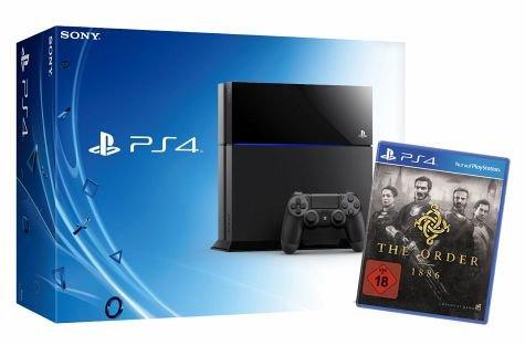 Playstation 4 500 GB plus The Order: 1886 bei bücher.de für 419