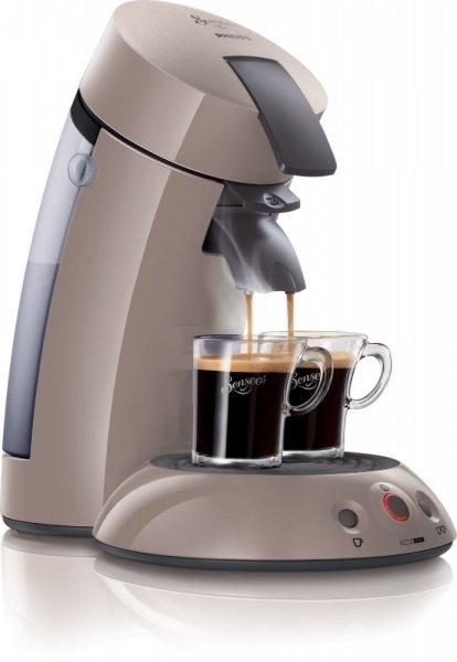 Philips Senseo HD7810 Original Kaffeepadmaschine, 1,450 W - 1 oder 2 Tassen, Perlbeige TOP PREIS + Gutschein + Super Punkte