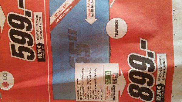 Telefunken L 65 F 243 R3C @ media markt fellbach&WN für 899€