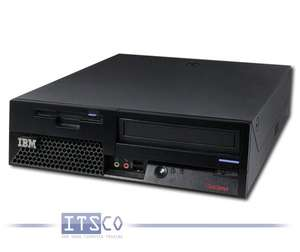 PC IBM Thinkcentre M52 Pentium 4 HT 3GHz 1GB RAM 80GB HDD DVD