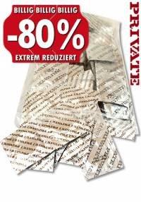 [dildoking.de] PRIVATE Kondome Gold 100 Stk. - 8,26€ bei Zahlungsart Überweisung