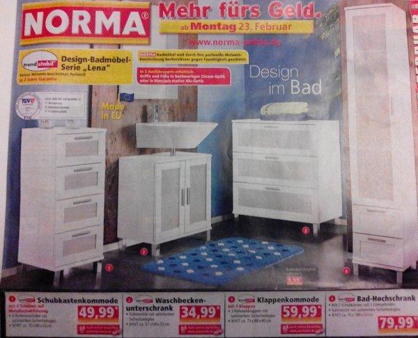 Norma Badmobel Weiss Serie Lena Ab Montag 23 02 Mydealz De