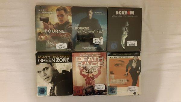 [lokal Recklinghausen] diverse Blu Ray Steelbooks (z.B. Death Race) für 6,90 EUR @Media Markt Palais Vest