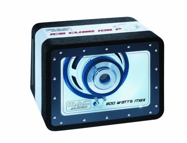 [Amazon Warehose] Mac Audio Ice Cube 108P Bandpass-Subwoofer (200 mm, 89dB, 250/800 Watt)