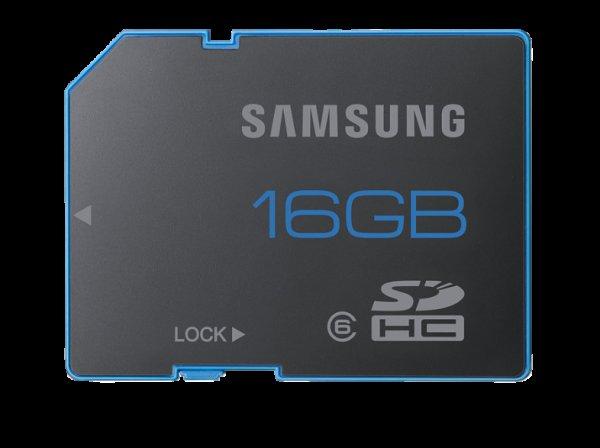 [Mediamarkt]SAMSUNG 16BG SDHC Class 6 Memory Card MB-SSAGB für 5 Euro inkl. Versand