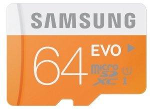 [MM] Samsung Evo 64GB microSDXC Class 10 UHS I mit Adapter für 22€ *** Samsung Evo 32GB microSDHC für 11€ inkl. VSK
