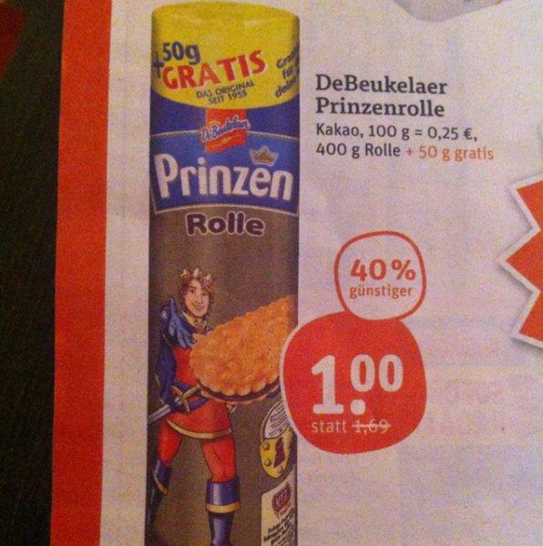 tegut... Prinzenrolle 400g+50g für 1€