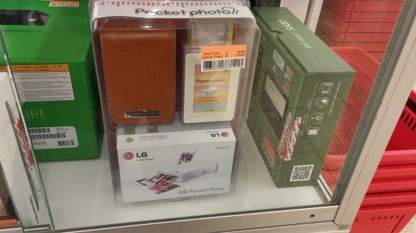 LG pocket Photo Drucker (Set inkl Tasche und Rahmen) für 70,00