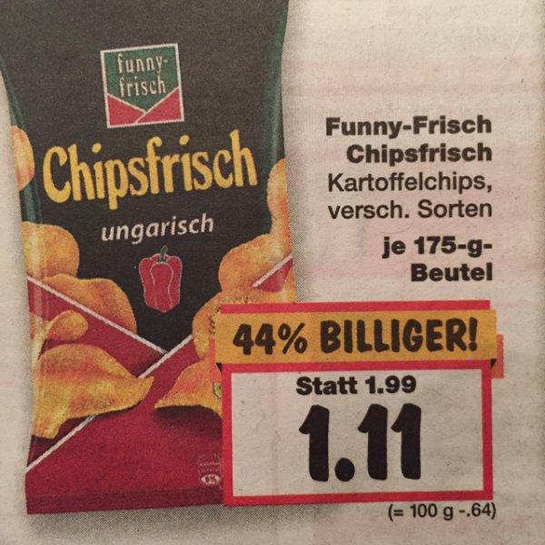 Funny-Frisch Chipsfrisch bei Kaufland in Geldern (evtl. bundesweit)