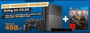 Playstation 4 + Kamera + 2. Controller + 1886 The Order @ Amazon.de