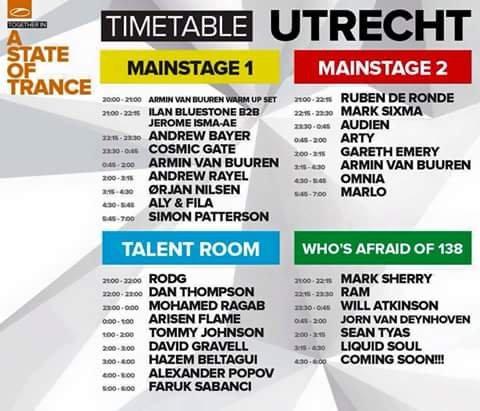 A State of Trance Festival in Utrecht (Video- und Soundübertragung)