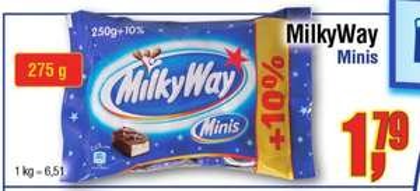 [Centershop] Milky Way Minis 275g für 1,79€